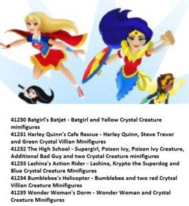 Lego DC Super Girls Sets 2017