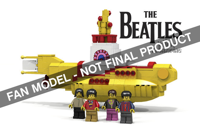 Lego Ideas Yellow Submarine Beatles set
