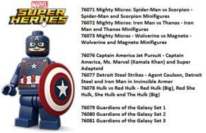 Lego Marvel Super Heores 2017