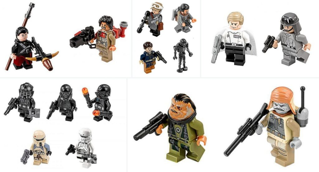 Lego Star Wars High Resolution Rogue One Minifigure Images ...