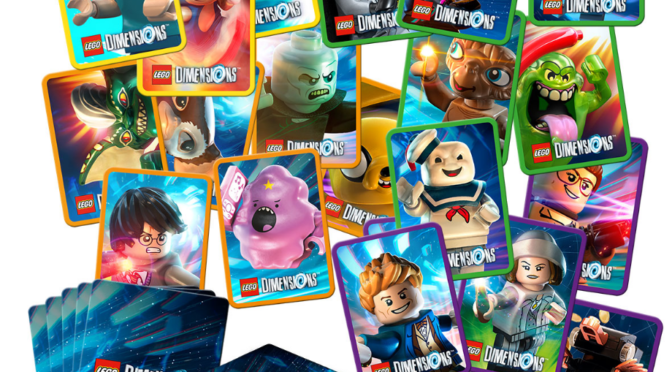 Lego Dimensions Character Cards Give Away at Brick Live