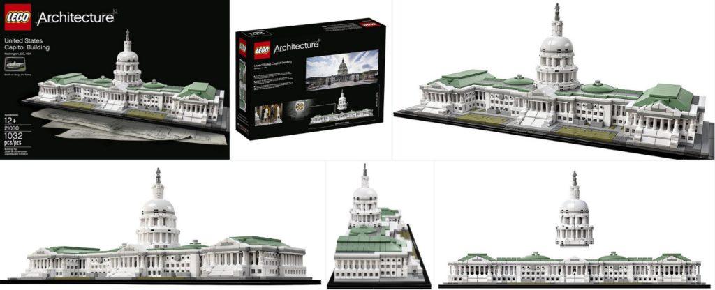 Lego 21130 United States Capitol Building (1)