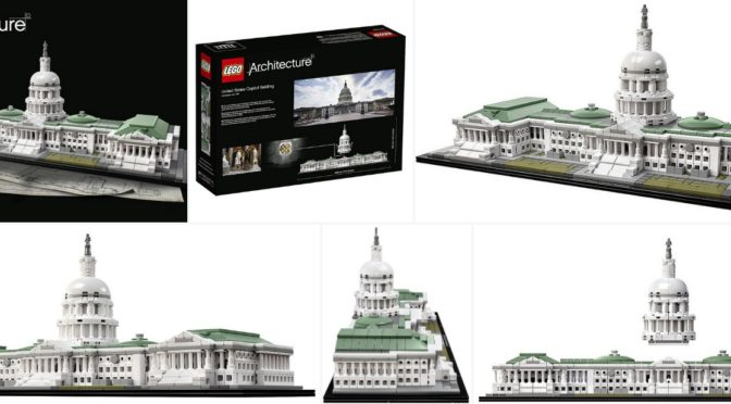 Amazon Discounts Several Sets including the Capitol Building – Super ...