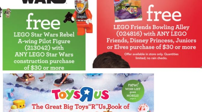 Toys R US Holiday Catalog is out