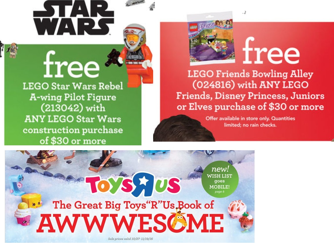 Toys For Holidays : Toys r us holiday catalog is out minifigure price guide