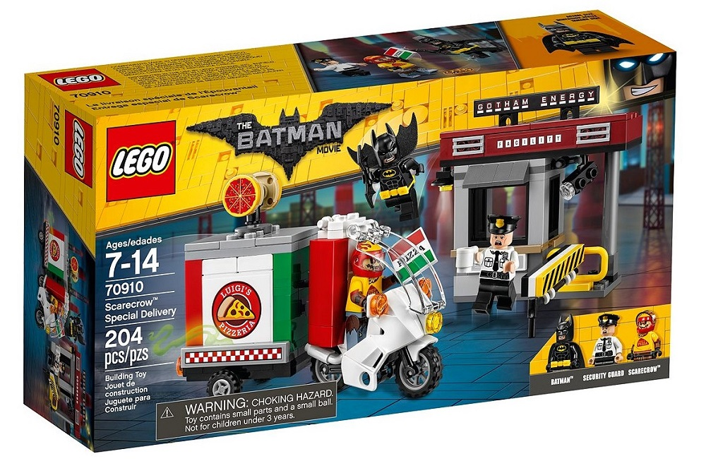Lego 70910 and 70911 batman movie official images special delivery and
