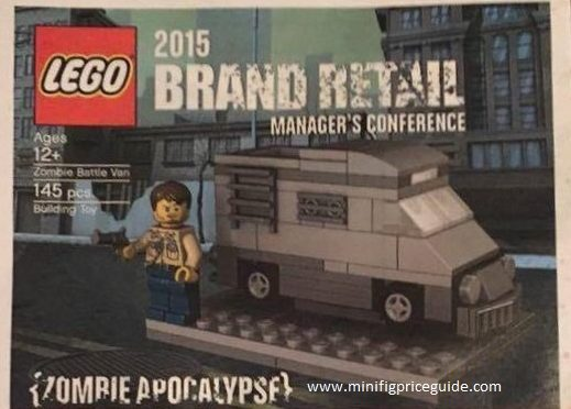 Lego Official 2015 Brand Retail Manager Conference  Zombie Battle Van with Exclusive Minifigure