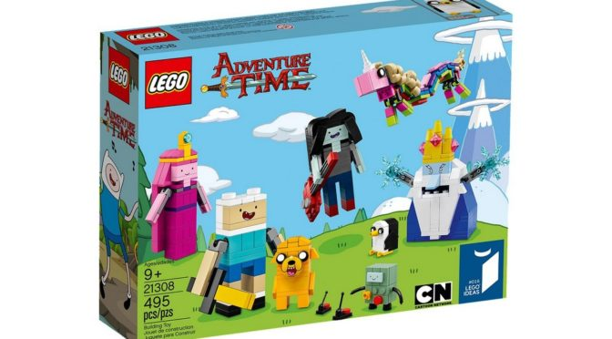 Lego Adventure Time 21308 Official Box Art pushed out to the Lego Server