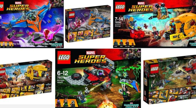 Lego 2017 Guardians of the Galaxy II – Box Backs Now as well ...