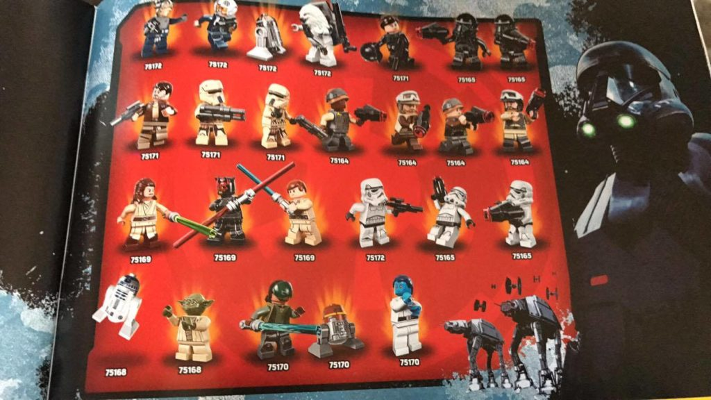 2017 Lego Star Wars Rogue One Minifigure Lineup | Minifigure Price ...