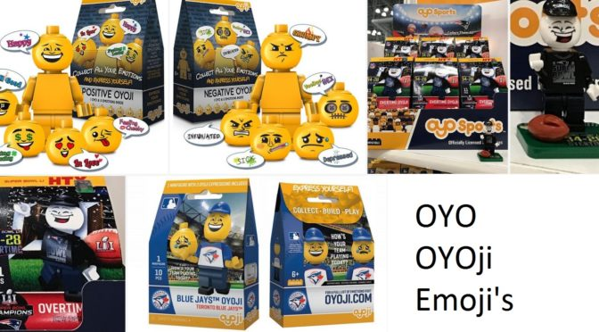 New Emoji Minifigures created by OYO – Called OYOji