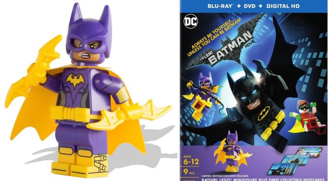 Target to get an Exclusive Batgirl Minifigure with HD Blu-Ray Batman Movie Set