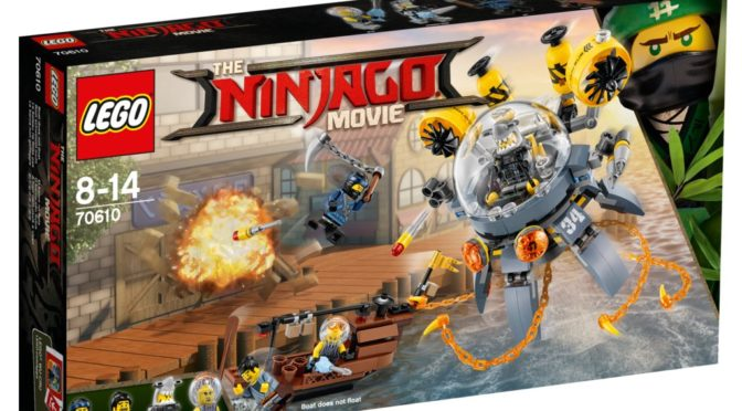 Lego Ninjago Movie 70610 First Images Found Over On Dk Toys R Us