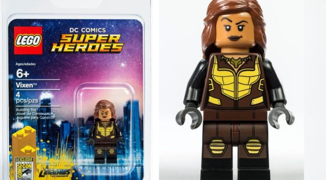 Lego SDCC 2017 Exclusive DC Legends of Tomorrow Vixen  and Marvel Deadpool Duck Minifigure Giveaway