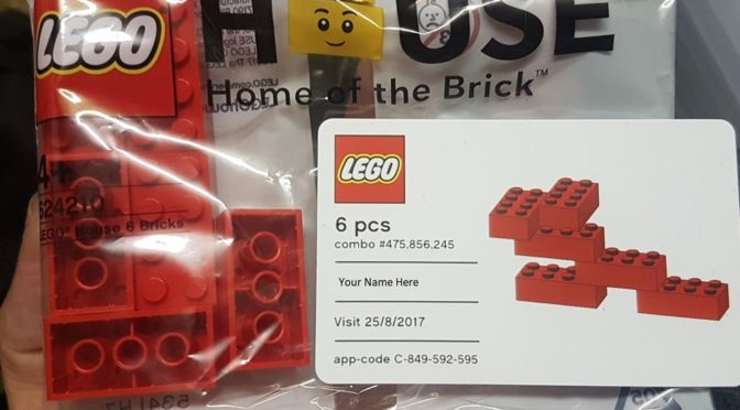 Lego House Home of the Brick Polybag 624210 and 40296