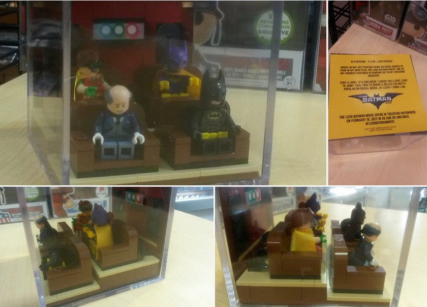 Lego Batman Movie Promotional Cube – limited and hard to find ...