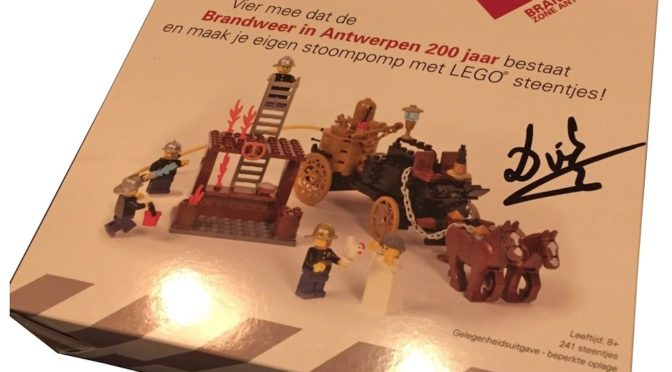LEGO Certified Professional: 200 Year fire department Anniversary Antwerp Pumper By Amazings