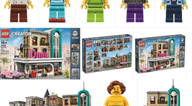 Lego 10260 Exclusive Downtown Diner Confirmed in the January 2018 Calendar – plus additional 60th Anniversary set as well