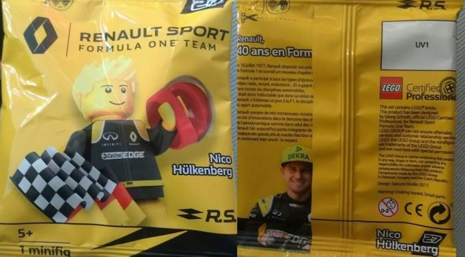 Lego Certified Professional Renault Sport Formula One Team Sets – Four of them.