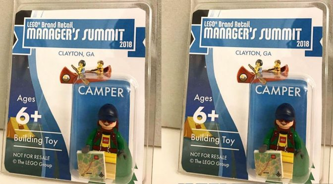 Lego 2018 Camper Manager Conference Minifigure – Summit in Clayton ...